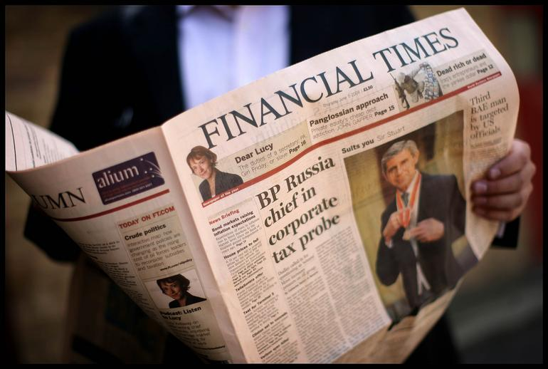 Financial Times AlumnEye