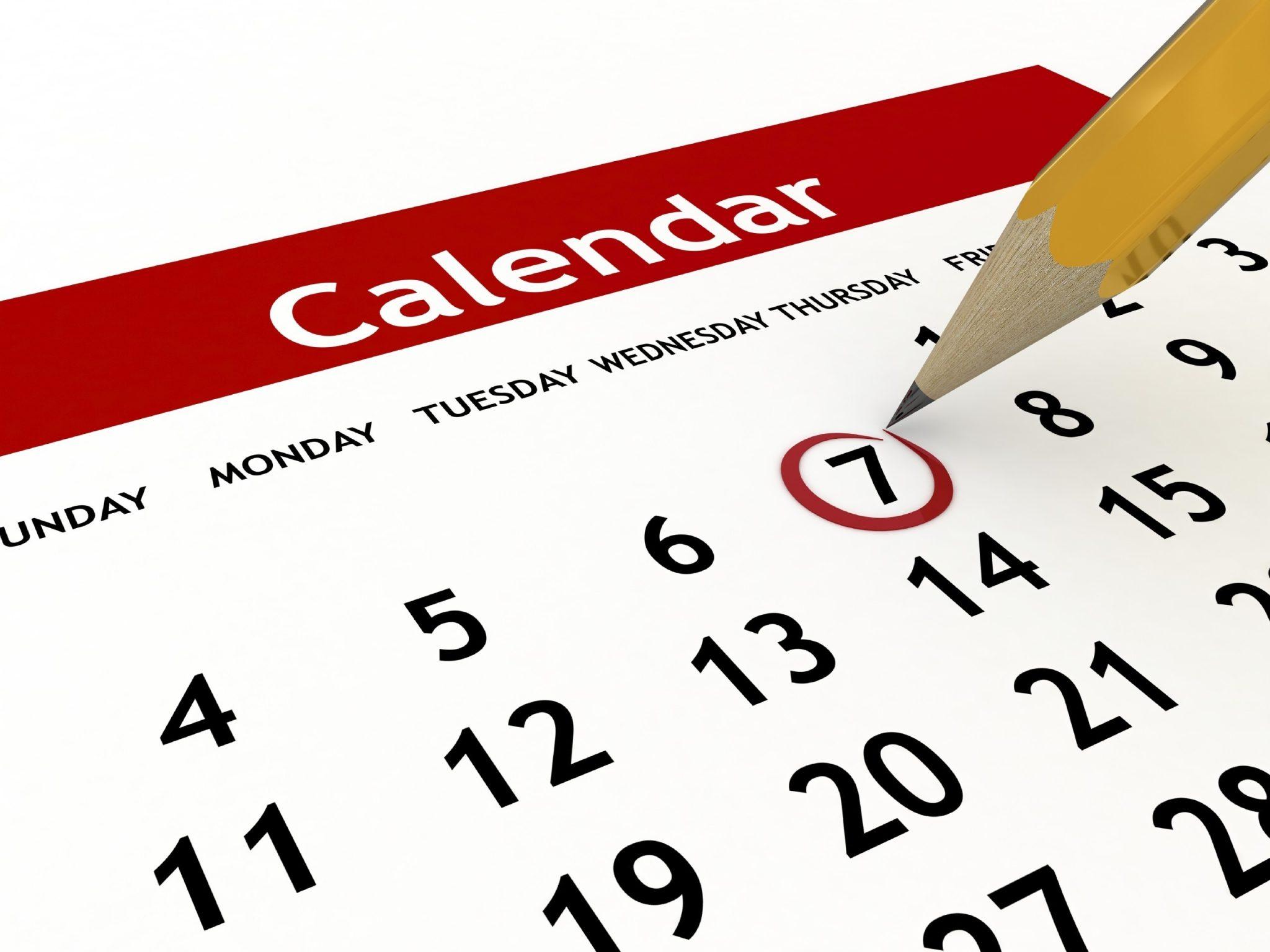 AlumnEye calendrier Summer Internship