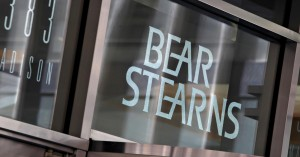 bear stearns faillite