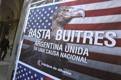 argentine fond vautour