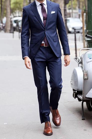 Un costume parfaitement polyvalent et à la bonne taille