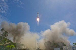 Décollage de la fusée SpaceX
