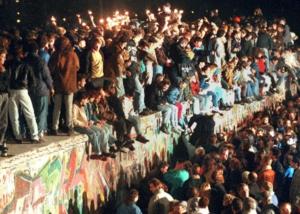 Photo chute du mur de Berlin