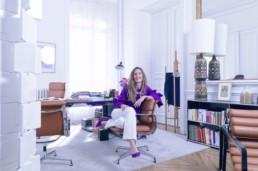Paris,Anne Laure KIECHEL, dans ses locaux , 24/03/2021