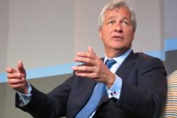 Photo de Jamie Dimon, CEO de JP Morgan